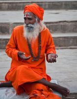 Sadhu by AndrewToPhotography