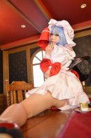 Remilia Scarlet ero cosplay #79 by Shiizuku