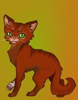 Squirrelflight by creanima