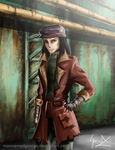 Fallout 4 - Piper [Speed Painting] by ManNamedGeorge
