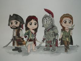 ACR multiplayer character set 5 by i-UnKnown