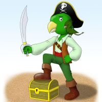 Green Pirate by uncle-bilbo