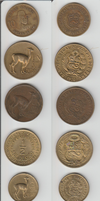 Peru coins by Yak-Blithering