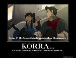 Sure you did, Korra. by LadyofLegends