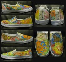 Beatles shoes by Tigers13