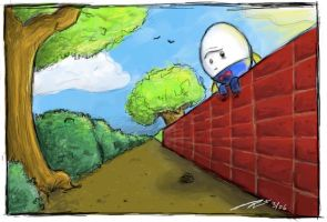 Humpty Dumpty paintChat by reed682