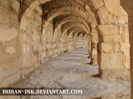 Amphitheatre Archway 1 by Indian-Ink