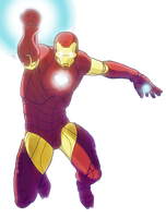 Iron Man Color by Dhencod