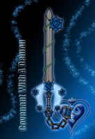 Keyblade - Covenant With A Demon - by WeapondesignerDawe