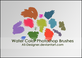 the Water Color brushes by Ali-Designer