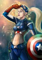 CAPTAIN AMERICA GIRL [2012] by chanlien