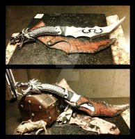 Dragon Fantasy Blade by PhantomLeather