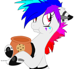 Neon Blitz: Who eated that cookie? by xXxRayne-ChicaxXx