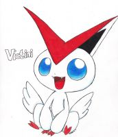 Victini request by TigresToku