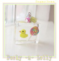 Ducky n Lolly Cubie by SugarRoxx