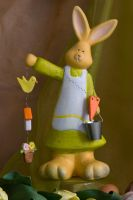 osterhase Easter Bunny by archaeopteryx-stocks