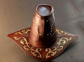 Witchhunter Hat Back by Azmal