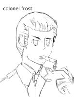 colonel frost rough sketch. by tetrarools