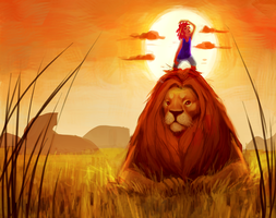 Lionboy by Mourphine