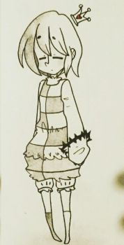 CheckMate Frisk's design  by KawaiiPasta23