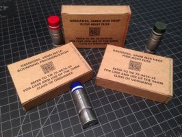 ARMAT grenade boxes back by Matsucorp