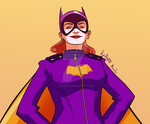 Batgirl, Hands on Hips by RabidDog008