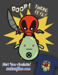 Deadpool and Doop Kawaii by ninjaink
