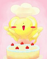 Kero and cake by Diatmi