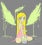 Paint your wings line art by DestinyBlue colored by Queen-Zelda-ofHyrule