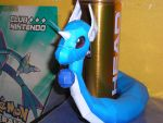 Dragonair papercraft by kirbymike