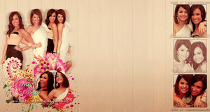 Demi Lovato and Selena Gomez Full Background! by teamdiall