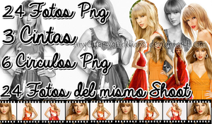 Pack Fotos Png de Taylor Swift by AnyCuervaEditions