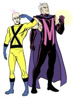X and M by dennisculver