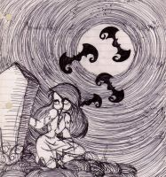 Sally in the Cemetery by CassyG