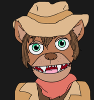 FNAF OC: Sheriff Mickey the Mink by MishachuTubby