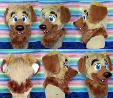 Quintus Fursuit Head by LobitaWorks