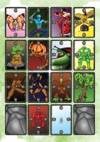 Mulch Monsters Set. by Wes-D84