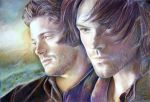Sam and Dean by Alena-Koshkar