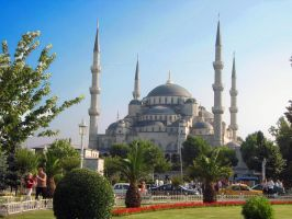 Istanbul-The Blue Mosque by Bodhichita
