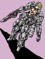 Android Torso with Mecha limbs by Endless-warr