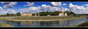 Sisak Panorama by Klek
