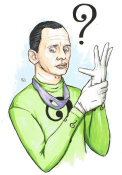 The Riddler by MikimusPrime
