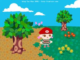 Animal Crossing Wild World by kurokumo