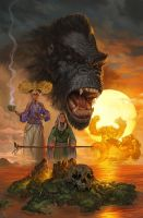Kong of Skull Island #1 by NickRoblesArt