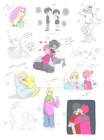 Adventure Time and others dump by MiyajimaMizy