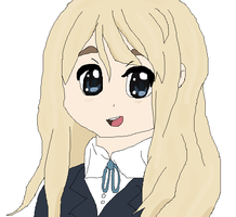K-On Mugi! by cottoncloudyfilly