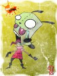 Zombie Gir by Artist-MarcusAlley