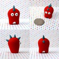 Ucca the Timid Monster by TimidMonsters
