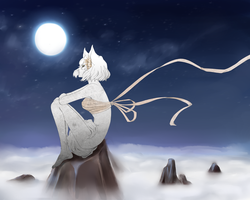 Hatena: Moonlit night by haeunee2