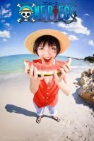 ONE PIECE - Monkey D.Luffy by Hasadosh